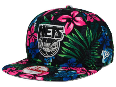 New Jersey Nets New Era NBA HWC Pop Trop 9FIFTY Snapback Cap