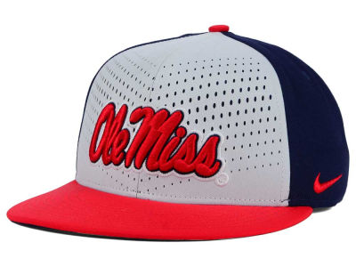 Ole Miss Rebels Nike NCAA True Seasonal Snapback Cap