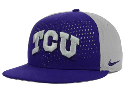Texas Christian Horned Frogs Nike NCAA True Seasonal Snapback Cap