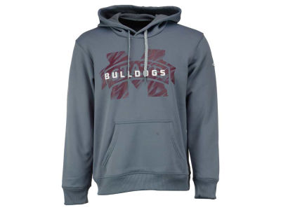 Mississippi State Bulldogs adidas NCAA Men's Sideline Stitched Shock Hoodie