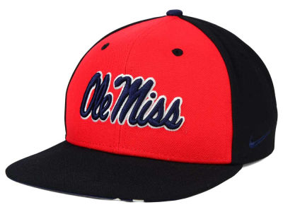 Ole Miss Rebels Nike NCAA Pro Verbiage Snapback Cap