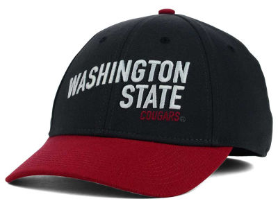 Washington State Cougars Nike NCAA Best L91 Swooshflex Cap