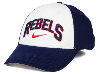 Ole Miss Rebels Nike NCAA L91 Verbiage Swoosh Hat