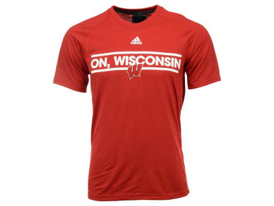 Wisconsin Badgers adidas NCAA Men's Dassler Local T-Shirt