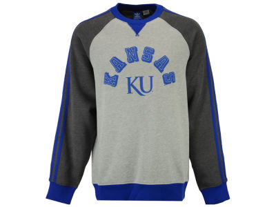 Kansas Jayhawks adidas NCAA Men's Originals Fleece Crew Sweatshirt