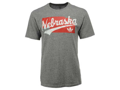 Nebraska Cornhuskers adidas NCAA Men's Statescript Triblend T-Shirt