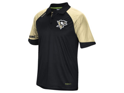 Pittsburgh Penguins Reebok NHL Men's Center Ice Polo Shirt