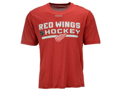Detroit Red Wings Reebok NHL Men's Center Ice Locker Room T-Shirt