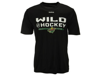 Minnesota Wild Reebok NHL Men's Center Ice Locker Room T-Shirt