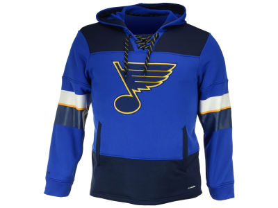 St. Louis Blues Reebok NHL Men's Team Jersey Hoodie