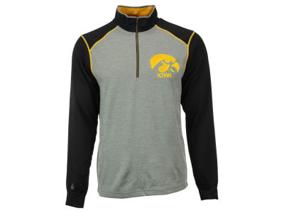 Iowa Hawkeyes NCAA Men's Breakdown 1/4 Zip Pullover Shirt