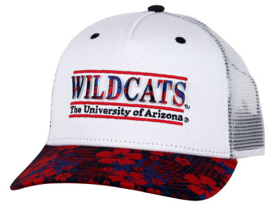 Arizona Wildcats NCAA Tiki Bar Snapback Hat