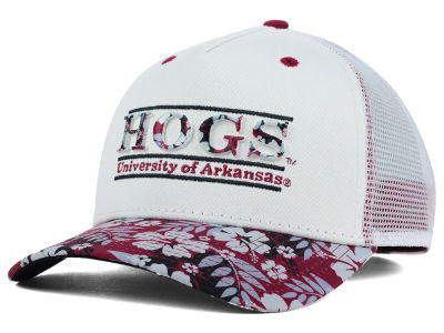Arkansas Razorbacks NCAA Tiki Bar Snapback Hat