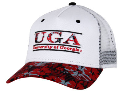 Georgia Bulldogs NCAA Tiki Bar Snapback Hat
