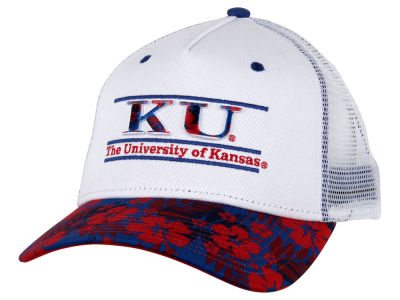 Kansas Jayhawks NCAA Tiki Bar Snapback Hat