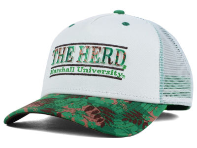 Marshall Thundering Herd NCAA Tiki Bar Snapback Hat