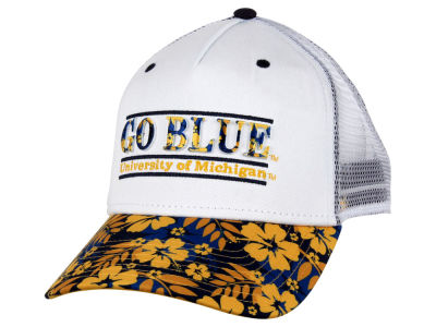 Michigan Wolverines NCAA Tiki Bar Snapback Hat