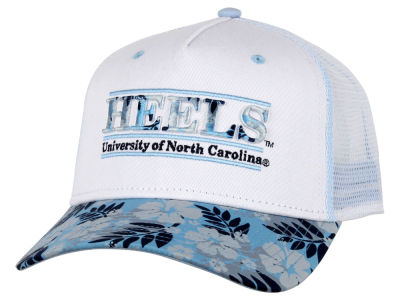 North Carolina Tar Heels NCAA Tiki Bar Snapback Hat