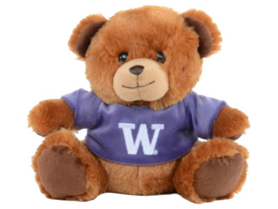 Washington Huskies 7.5inch Premium Plush Jersey Bear
