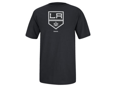 Los Angeles Kings Reebok NHL Men's Jersey Crest T-Shirt