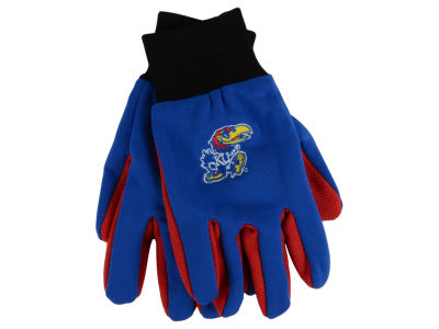 Kansas Jayhawks Team Color Palm Gloves