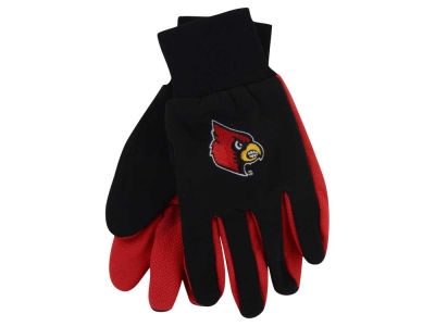 Louisville Cardinals Team Color Palm Gloves