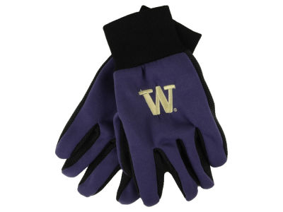 Washington Huskies Team Color Palm Gloves