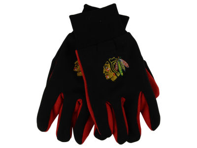 Chicago Blackhawks Team Color Palm Gloves