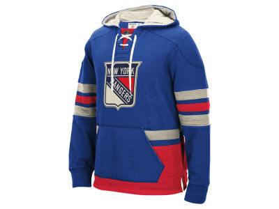 New York Rangers Reebok NHL Men's Pullover Hoodie