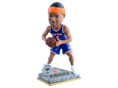 New York Knicks Carmelo Anthony Springy Logo Bobble