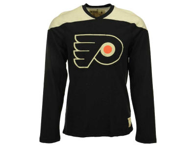 Philadelphia Flyers Reebok NHL Men's Applique Long Sleeve T-Shirt