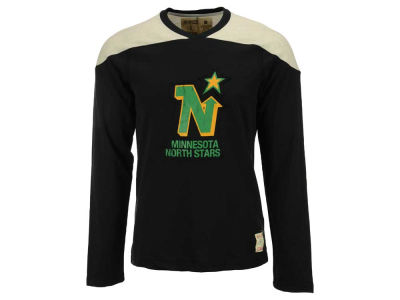 Minnesota North Stars Reebok NHL Men's Applique Long Sleeve T-Shirt