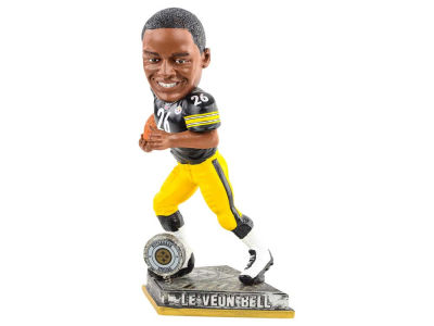 Pittsburgh Steelers Le'Veon Bell Springy Logo Bobble