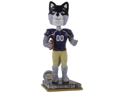 Washington Huskies Springy Logo Bobble