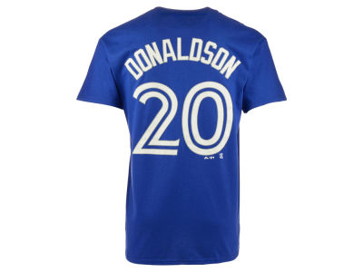 Toronto Blue Jays Josh Donaldson Majestic MLB Men's Official Player T-Shirt