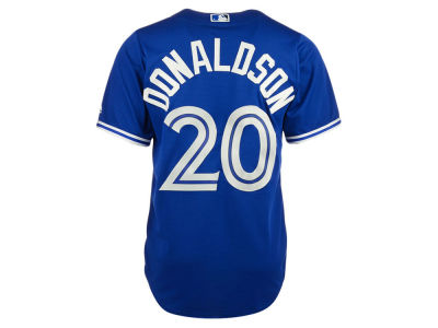 Toronto Blue Jays Josh Donaldson Majestic MLB Men's Player Replica CB Jersey