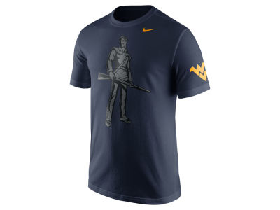 West Virginia Mountaineers Nike NCAA Men's Campus Elements T-Shirt