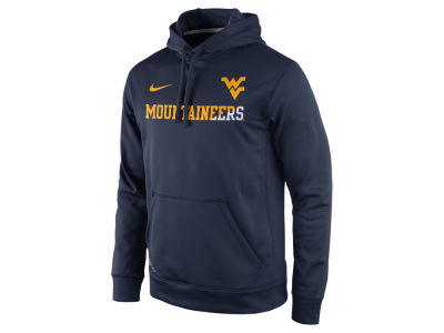 West Virginia Mountaineers Nike NCAA Men's Sideline KO Hoodie