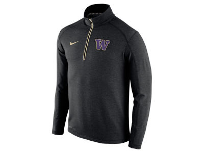 Washington Huskies Nike NCAA Men's Game Day 1/4 Zip Knit Pullover Shirt