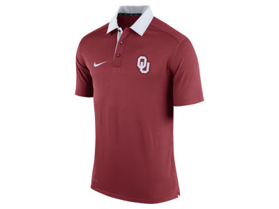Oklahoma Sooners Nike NCAA Men's 2015 Elite Coaches Polo Shirt
