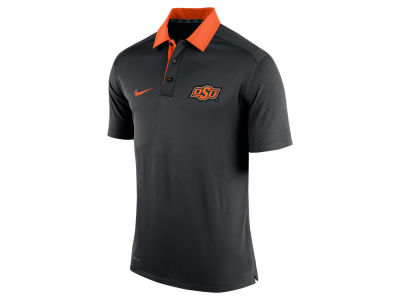 Oklahoma State Cowboys Nike NCAA Men's 2015 Elite Coaches Polo Shirt