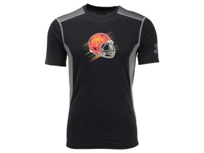 Iowa State Cyclones Under Armour NCAA Men's Helmet Raid T-Shirt