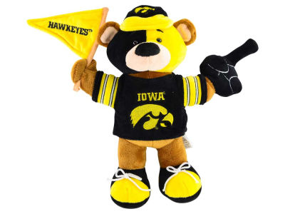 Iowa Hawkeyes 10inch Fan Bear