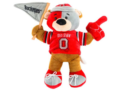 Ohio State Buckeyes 10inch Fan Bear