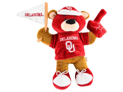 Oklahoma Sooners 10inch Fan Bear