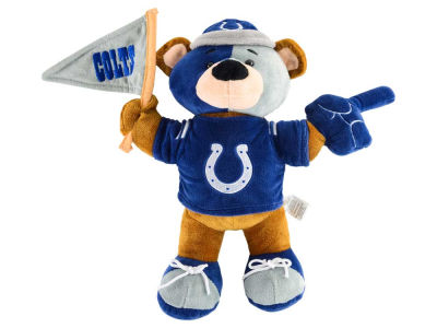 Indianapolis Colts 10inch Fan Bear