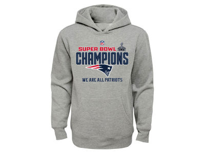 New England Patriots NFL Youth Super Bowl XLIX Champs Locker Room Hoodie