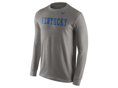 Kentucky Wildcats Nike NCAA Men's Cotton Wordmark Long Sleeve T-Shirt