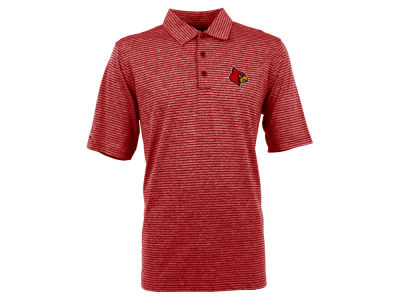 Louisville Cardinals Antigua NCAA Men's Finish Polo Shirt