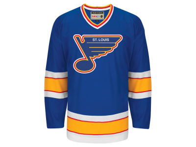 St. Louis Blues Reebok NHL Men's Team Classic Jersey